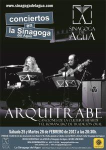 cartel concierto ARQUITRABE 2017 OPT