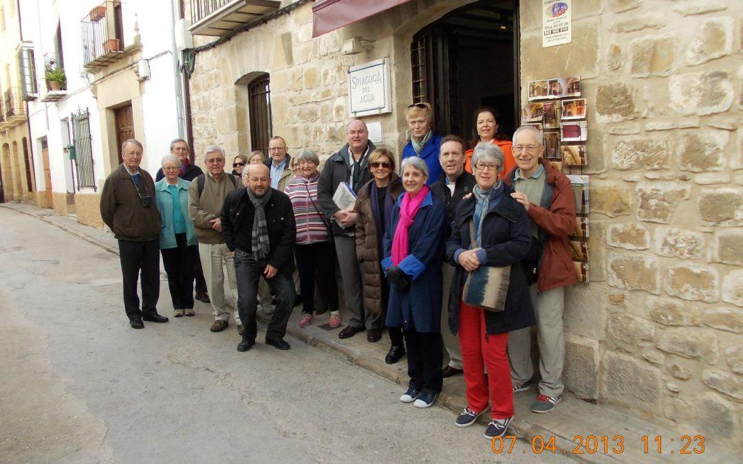 Visita de la Asociación Arqueológica del Algarve