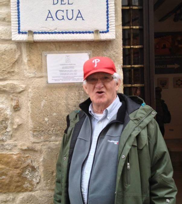 Visita del Rabino Morton Narrowe y 'su' grupo desde Suecia