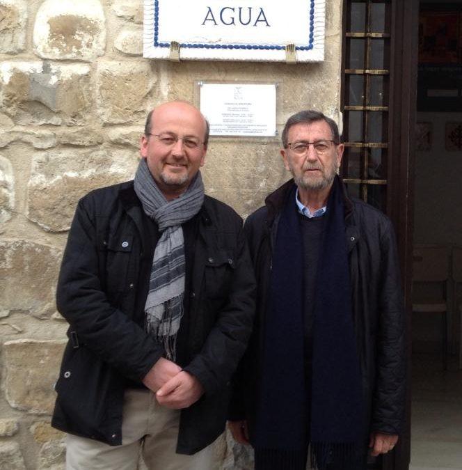 Visita del Presidente del Parlamento Andaluz y su familia