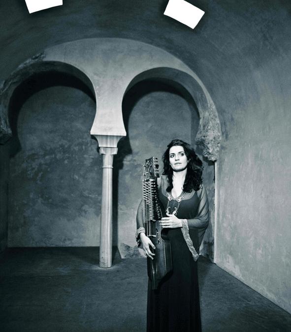 Ana Alcaide en el Festival de Música Antigua de Úbeda y Baeza.
